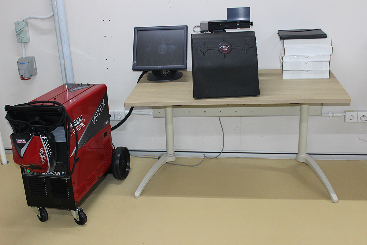 virtual welding machine